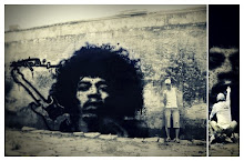 Hendrix, rende-se, graffiti