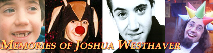 Memories of Joshua Westhaver