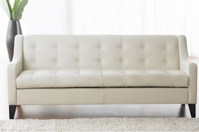the 25 best ideas about white leather couches on pinterest dark leather couches white leather sofas and black leather couches - White Leather Sofa