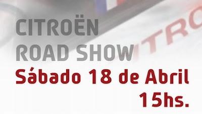 [Road Show de Sébastien Loeb y su Citroën WRC en Buenos Aires]