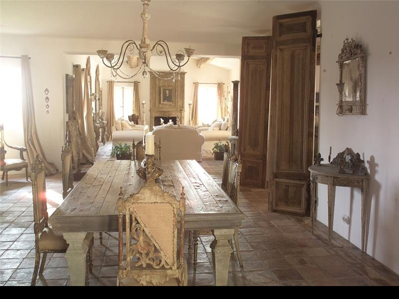 My shabby life in the heart of the provence for Interni case provenzali