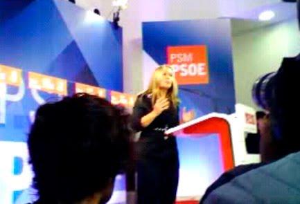 Trinidad Jimenez Ha Presentado Hoy Su Candidatura Em Si Pasamos