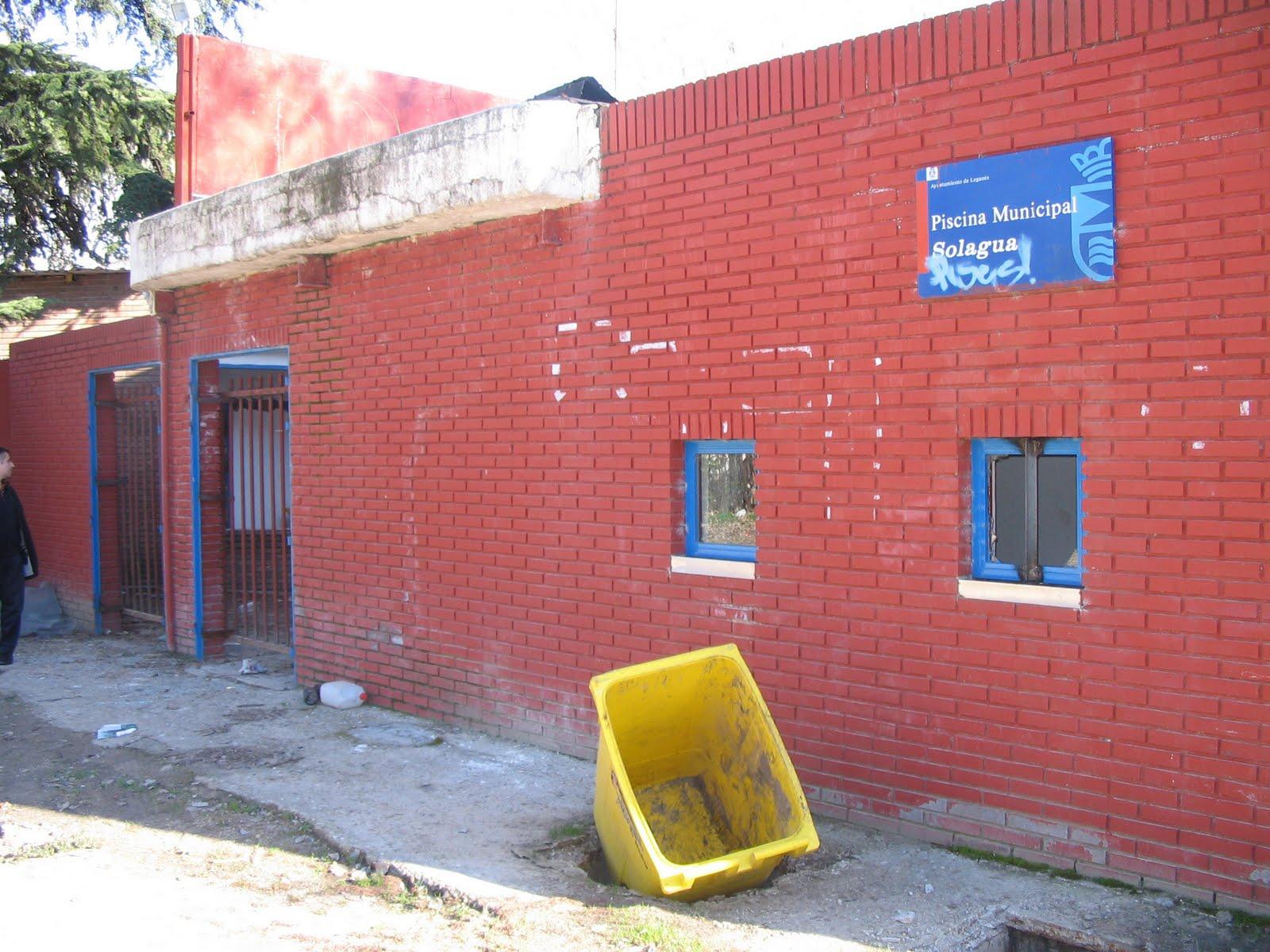 Septiembre 2010 dlegan s desde el exilio for Piscina solagua leganes