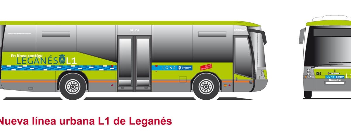 Una nueva l nea urbana de autob s que conecta el centro for Oficinas del consorcio de transportes de madrid puesto 2