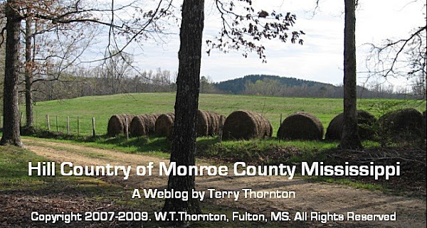 Hill Country of Monroe County, Mississippi