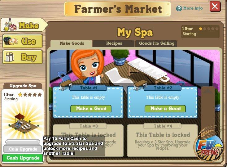 Spa On Farmville