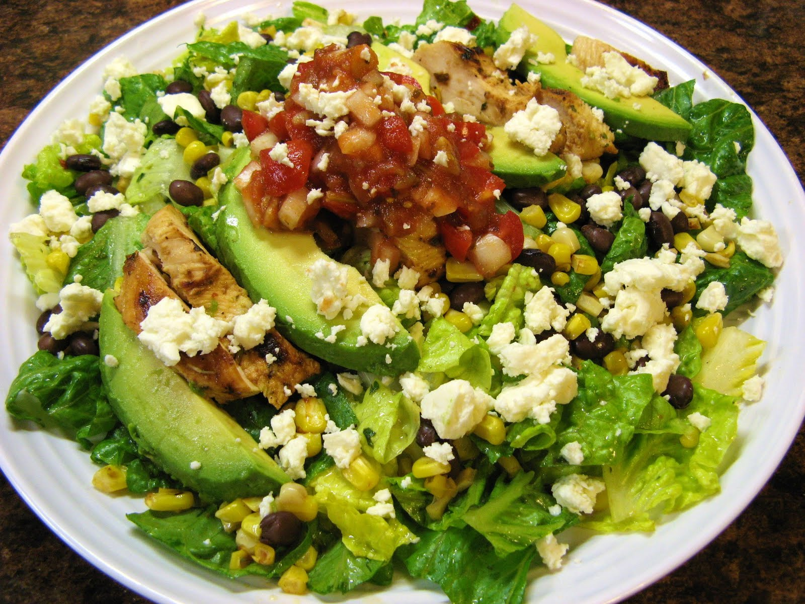 ... -Fed Newlyweds: Grilled Chicken Salad with Chipotle Lime Vinaigrette