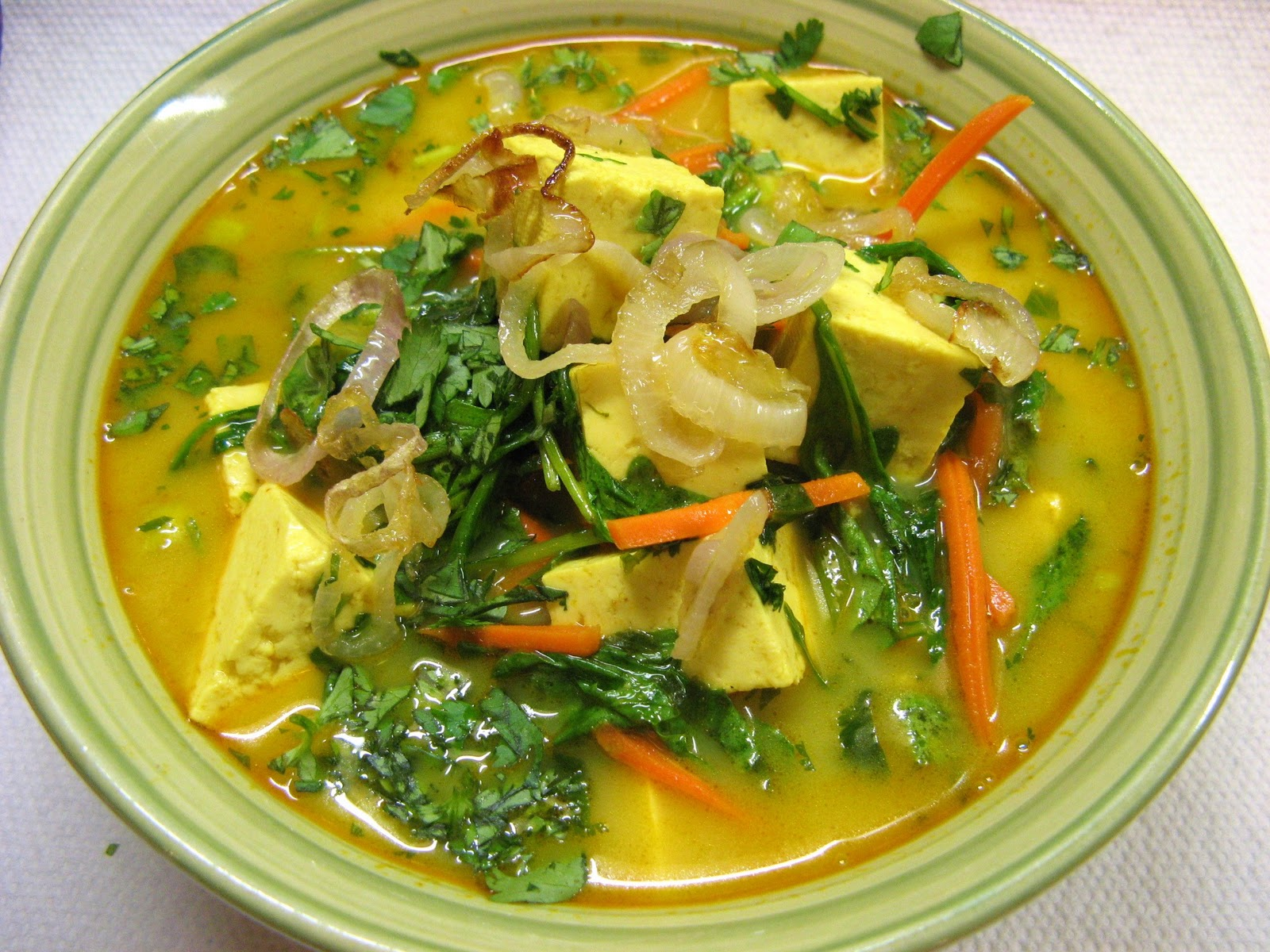 soup burmese coconut chicken noodle soup ohn no khao swe coconut curry ...