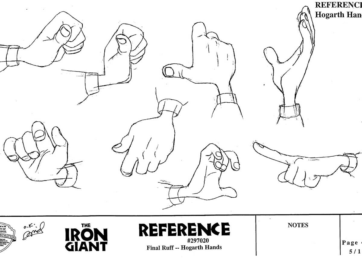 Character Design Hands : Character and creature design notes hand reference part