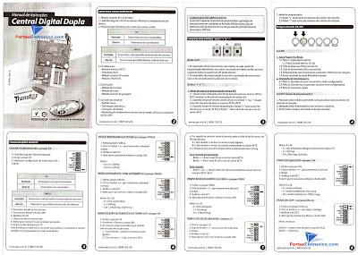 Manual da central dupla PPA
