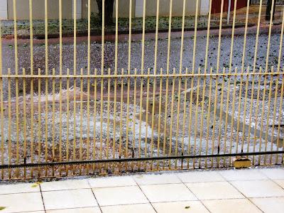 Chuva de granizo em Maringá