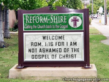 Welcome to Reform-Shire