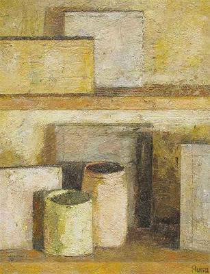 Un'opera pittorica di HUGO BUSTAMANTE