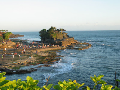 Tanah Lot of Bali, Indonesia before Sunset