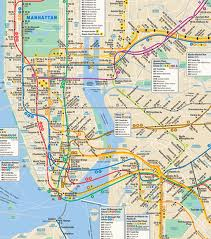 mta subway map manhattan queens bronx