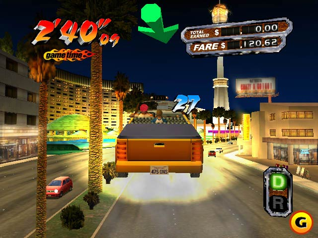 search  crazy taxi