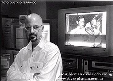 O documentarista Hernán Gaffet