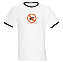 Nanny Bans T Shirts - Freedom of Speech Is Dead