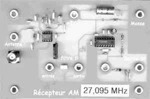 RECEPTEUR à 27 MHz EN MODULATION D'AMPLITUDE
