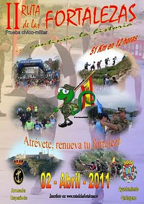 II Ruta de las fortalezas (2011)