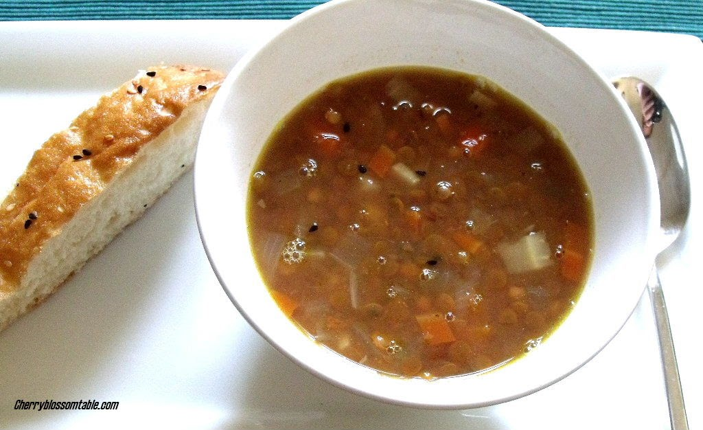 German Lentil Soup With Hot Dogs