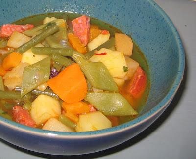 Puchero de Verano - Andalusische Gemüseeintopf