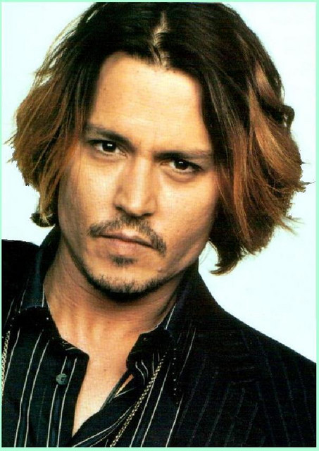 popular fashion sense among movie stars. Johnny Depp