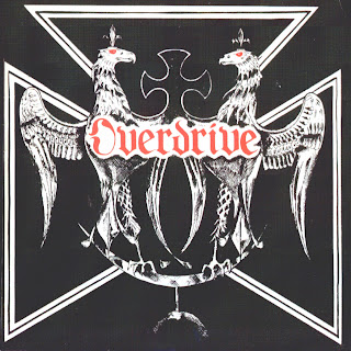 Overdrive (Grantham, UK) Overdrive+-+on+the+run+%2528front%2529