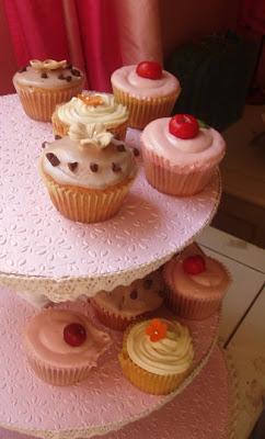 Construir un exhibidor de cupcakes