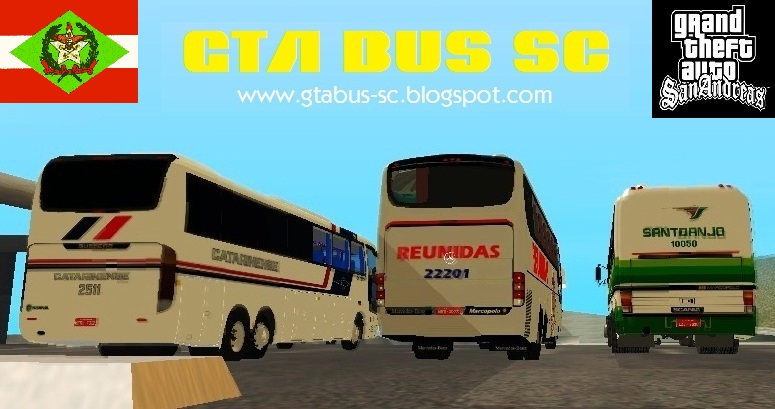 GTA BUS-SC - O seu blog de ônibus de SC para o GTA San Andreas