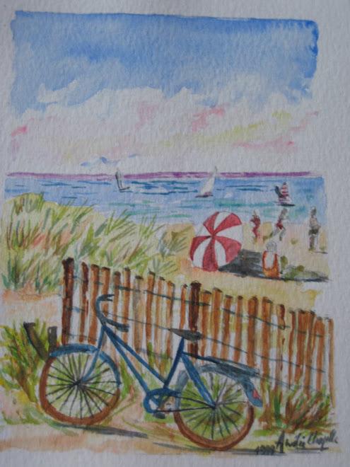 bord de plage charentaise