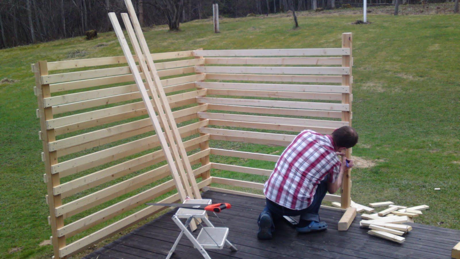 Hemma hos Maria : Nytt staket