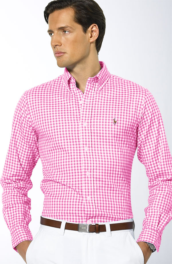A Man Of Style Gingham Shirt A Must Have For Spring