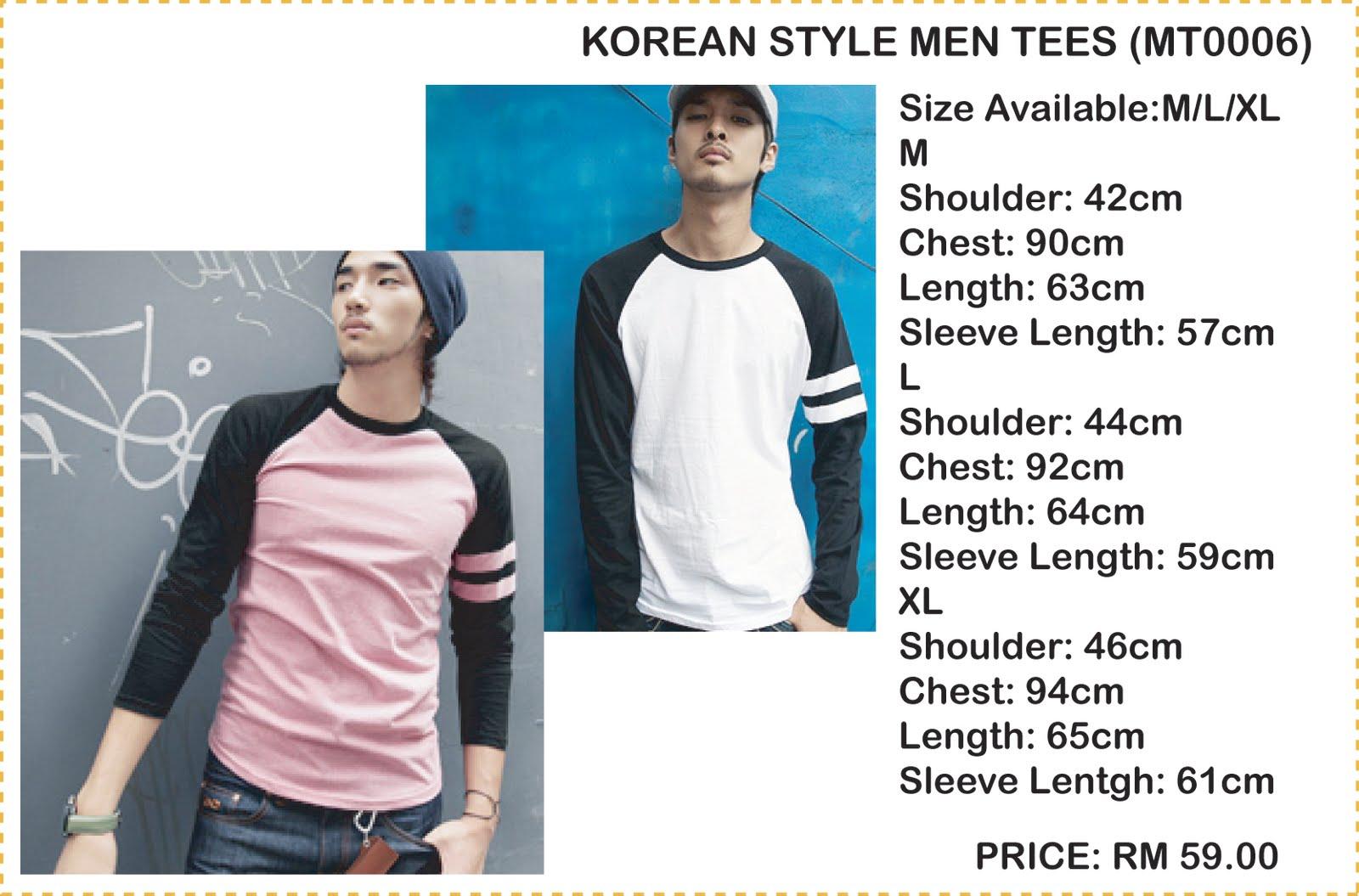 kinn's closet: KOREAN STYLE MEN'S WEAR (Pre-Order: expired ...