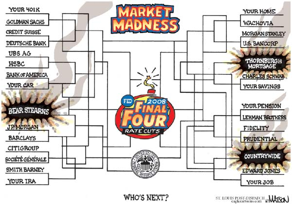 Market Madness - Who is next