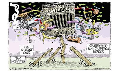 US economy teetering?