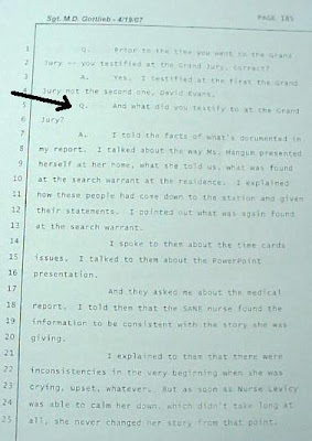 Gottlieb depostion about grand jury testimony