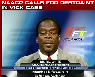Atlanta NAACP head Dr. R.L. White