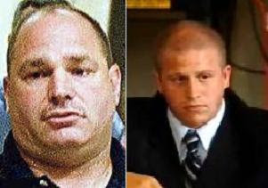 Durham PD investigators: Sgt. Mark Gottlieb (left), Ben Himan (right)