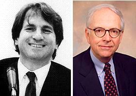 Barry Scheck (l), Brendan Sullivan (r)