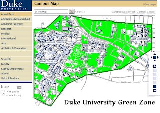 Duke University Green Zone