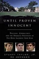 Best Books of 2007/Top 10 Editors' Picks: Nonfiction - Until Proven Innocent