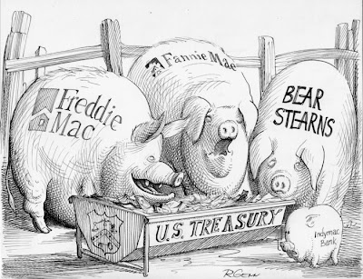 Fannie Mae & Freddie Mac: pigs at the trough