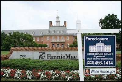 White House Forecloses on Fannie Mae and Freddie Mac