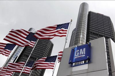 GM officially becomes Government Motors as it declares bankruptcy with Federal backing