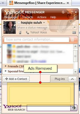 Yahoo Messenger 9 Ads Removed