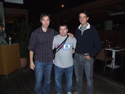 Javier, Yo y Nando