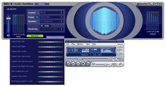 31 Dec 2012 SRS HD Audio Lab is a significant increase in audio software su
