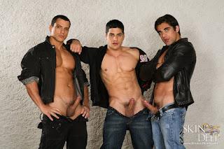 DANIEL MARVIN, FRANCO DOMINICCI, ROCKY OLIVEIRA - Skin Deep - Kristen Bjorn