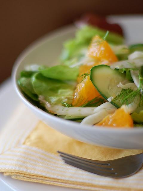 ... Green Mango: Meyer Lemons +Tangelos + Fennel = Citrus Fennel Salad